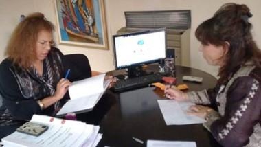 Otarola junto a la directora de Equidad y Género analizaron los datos sobre violencia de género en Chubut.