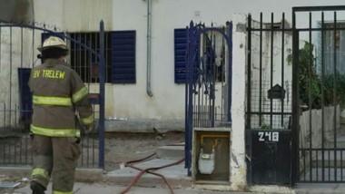 El siniestro domiciliario se produjo a yer en la calle Las Araucarias.