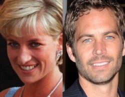Lady Di y Paul Walker.