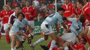 El medio scrum y capitán de Los Pumas, Agustín Pichot, con la guinda en el histórico partido en Puerto Madryn.