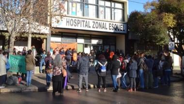 El paro comenzó el viernes pasado en el hospital de Esquel.