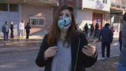 Cecilia Insinga, era la encargada de cubrir los hechos para ambos canales, cuando fue víctima de un violento intento de robo, a punta de cuchillo.