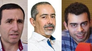 Trío. Desde la izquierda, Marcelo Griffiths, Guillermo Costes y Elías Jones, con durísimas sanciones.