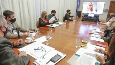 Deuda. La videoconferencia entre el ministro de Economía y los diputados de los diferentes bloques.