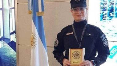 En acción. Daiana Rodríguez tiene 27 años y ayudó a la joven víctima.