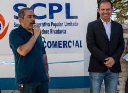 Un dúo. Costes (izquierda) y Aguilera, dos de los dirigentes de la SCPL que tuvieron una semana muy floja.
