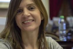 La titular de la ANSeS, María Fernánda Raverta.