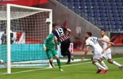 El defensor central marcó su primer tanto en la temporada, con 18 encuentros disputados.