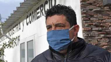 Miguel Larrauri, presidente de la Cámara de Comercio de Rawson.