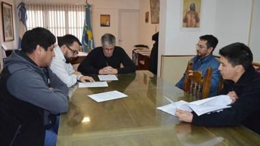 SOEME y el Municipio acordaron la renovación de los contratos.