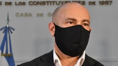 """""""No hay discriminación, hay protección"""", dijo Massoni."""