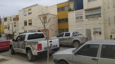 Los allanamientos se llevaron a cabo en la tarde de ayer en dos departamentos de las 630 Viviendas.