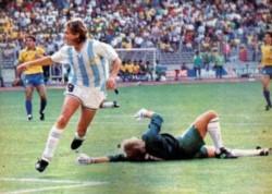 ¿Te acordás del gol de Caniggia contra Brasil en Italia 90? Pasaron 30 años.