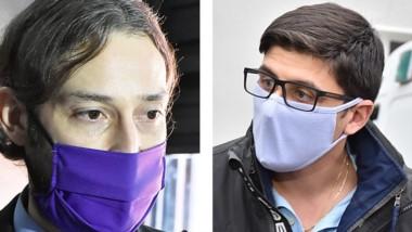 Dúo. Aguilar (izquierda) confirmó la visita y Castiñeira habló del virus.