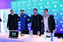 El Kily González fue presentado en sociedad en Ciudad Deportiva como nuevo director técnico de Rosario Central.
