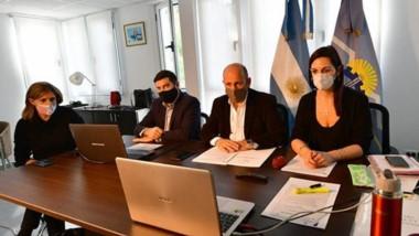 El Vicegobernador Ricardo Sastre encabezó la segunda prueba virtual de las sesiones legislativas.