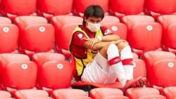 Luka Romero esta vez no entró y vio la derrota en Bilbao desde las tribunas del nuevo San Mamés.