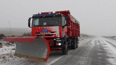 Las nevadas fuertes decoraron de blanco a la ciudad de Esquel.
