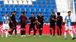 La seriedad del Sevilla prolonga la agonía de un Leganés en caída libre.