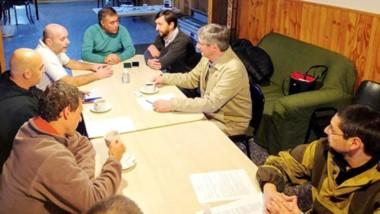 Reunión con autoridades de Salud y Seguridad. Definieron temas que involucran a ambas ciudades.