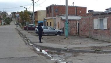 En la madrugada de ayer, el barrio Don Bosco vivió un momento tenso.