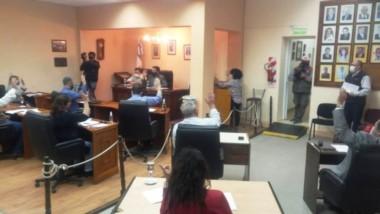 El Concejo aprobó la asistencia de fondos de Nación.