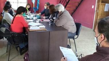 El intendente de Lago Puelo, Augusto Sánchez, se reunió con concejales para reforzar el trabajo en conjunto.