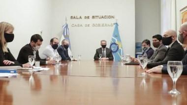 Arcioni encabezó una nueva reunión del Comité de Crisis.