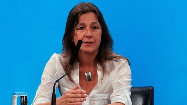 """La ministra de Seguridad, Sabina Frederic, expresó su """"repudio categórico"""" contra el sabotaje y el vandalismo en zonas rurales."""