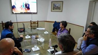 Sergio Ongarato realizó las gestiones por videoconferencia.