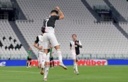 CR7 empató en ambas ocasiones, de penal. Uno mal cobrado, el otro bien. Juventus se encamina al noveno título seguido.