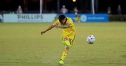 Golazo de tiro libre y asistencia de Lucas Zelarayán en la victoria 4-0 de Columbus Crew ante Cincinnati en la MLS.