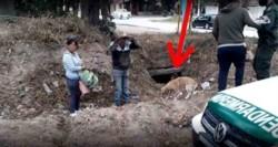 Los tres ciudadanos bolivianos lograron ingresar al territorio argentino por la salida del caño pluvial.
