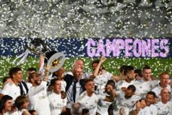 En lo más alto. Zidane ya lleva 11 títulos como DT.