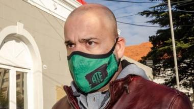 Negociación. Luciano Bunge participó por ATE de las conversaciones del municipio de Rawson.