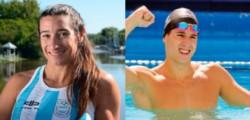 Dieron positivos dos deportistas argentinos; Ameghino y Grassi.