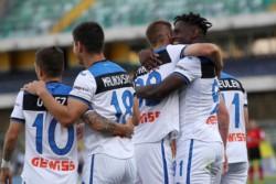 La temporada de Duván Zapata: 18 goles en 28 partidos. Goleador del Atalanta en la Serie A junto a Luis Muriel con 17 y hoy marcó en el empate 1-1 de su equipo ante Hellas Verona.