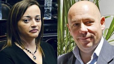 Un inesperado cruce entre la diputada Moreau y Ricardo Sastre.
