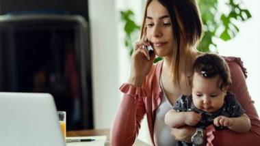 El nuevo regimen de teletrabajo contempla derechos para las madres.