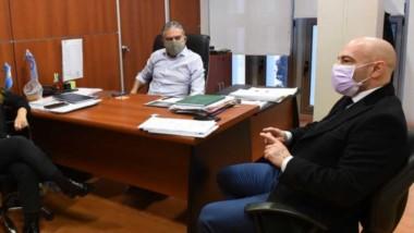 Massoni se reunió con los diputados y hoy será el turno de Antonena por la reestructuración de la deuda.