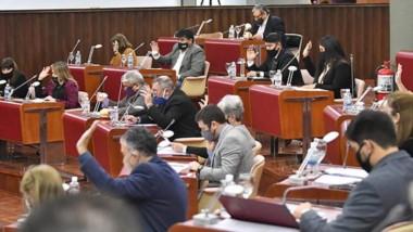 Una nueva sesión se realizó ayer en la Legislatura donde también se aprobaron pedidos de informes.