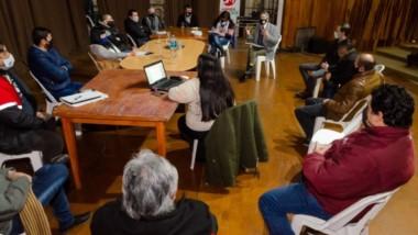 El municipio presidió un nuevo encuentro con los sindicatos en el marco de la mesa de diálogo propuesta.