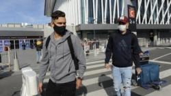 Rafael Santos Borré yJorge Carrascal regresaron al país y tendrán que realizar el aislamiento obligatorio de 14 días.