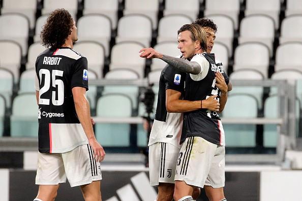 Bernardeschi marcó el segundo tanto de Juventus.