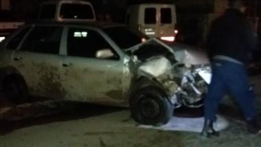 El siniestro vial sucedió a las 3 de ayer. El conductor fue aprehendido.
