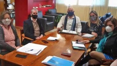 La ministra de Educación se reunió con su par de Salud por los protocolos de la vuelta a clases.