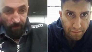 Trío complicado. Desde la izquierda, Hatzaman, Navarro y Oroño durante la audiencia virtual donde les imputaron el crimen de Rubilar en la ciudad del Golfo.