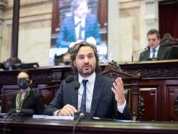 Santiago Cafiero brinda su informe de gestión en Diputados: