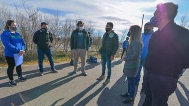 """Integrantes de las """"Cebras"""" se reunieron con responsables del municipio y presentaron los protocolos."""