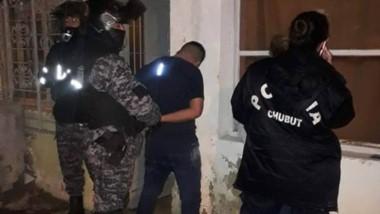 La detención de los ladrones se produjo en el sector norte de Trelew.
